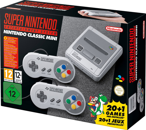 "Nintendo""Nintendo Classic Mini SNES / Super Nintendo Classic"""