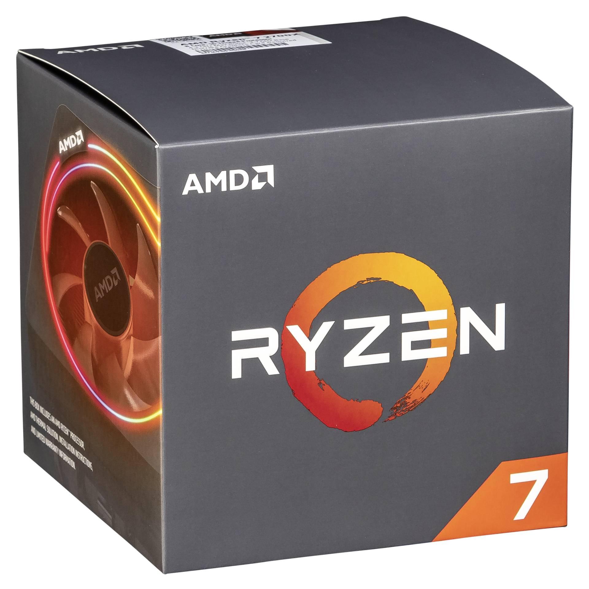 """Amd Gmbh""""CPU Ryzen 7 2700X Wraith Prism"""""""