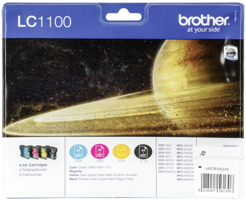 "Brother Blister ""Brother Lc 1100 Multipack Blister"""