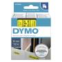 """Dymo""""D1 Schriftband 12 mm x 7 m schwarz auf gelb 45018"""""""