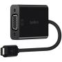 "Belkin""USB-C auf VGA Adapter 15cm, schwarz F2CU037btBLK"""