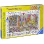 """Ravensburger 19069 - James Rizzi: Times Square, Puzzle, 1000""""19069 - James Rizzi: Times Square, Puzzle, 1000 Teile"""""""