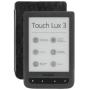 """Pocketbook""""Touch Lux 3 dark grey, E-Book Reader"""""""