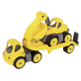 "Big Power Mini Transport Mit Bagger ""Power Worker Mini Transporter + Bagger"""