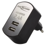 "Ansmann ""High Speed USB Ladegerät 2.4A 2xUSB Port 1001-0031"""