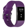 "Fitbit ""Fitbit Charge 2 small plum/silver"""