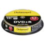 "Intenso ""1x10 Intenso DVD+R 8,5GB 8x Speed, Double Layer printable"""
