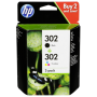 """Hp Deutschland Gmbh""""HP X4D37AE Combo 2-Pack BK/Color No. 302 [EURO-Version]"""""""