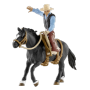 "Schleich ""Farm World 41416 Saddle bronc riding mit Cowboy"""