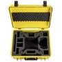 "B&w International""B&W Copter Case Type 6000/Y gelb DJI Phantom 4 Pro Inlay"""