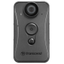 "Transcend""DrivePro Body 20 - Camcorder - 1080p / 30 BpS - Flash 32 - interner Flash-Speicher - Wi-Fi (TS32GDPB20A)"""