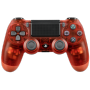 "Sony""DualShock 4 Wireless Controller PlayStation 4 PS4 red translucent V2 [DE-Version]"""