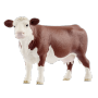 "Schleich ""Farm World 13867 Hereford Kuh"""
