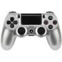 "Joypad Sony Dualshock 4 Wireless Controller Silber V2 (2017)""Dual Shock 4 v2 - Game Pad - drahtlos - Bluetooth - Silber - für Sony PlayStation 4 (9895657)"""