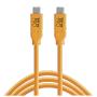 "Tether Tools""USB-C zu USB-C 4,60m orange"""