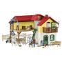 """Schleich""""Farm World 42407 Bauernhaus mit Stall und Tieren"""""""
