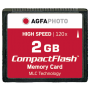 "Agfaphoto""Compact Flash 2GB High Speed 120x MLC"""