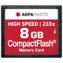 "Agfaphoto""Compact Flash 8GB High Speed 233x MLC"""