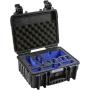 "B&w International""B&W Copter Case Type 3000 schwarz mit DJI Mavic Air Inlay"""