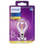 "Philips ""LED Tropfen E14 Vintage 2W (25W) 2700K 250lm klar [DE-Version]"""