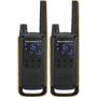 "Motorola""Talkabout T82 Extreme - Twin Pack - tragbar - Two-Way Radio - PMR - 446 MHz - 16 Kanäle - Schwarz, Gelb (Packung mit 2) (18"""
