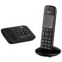 """Gigaset""""C570A - Schnurlostelefon - Anrufbeantworter mit Rufnummernanzeige - DECTGAP - Schwarz"""""""