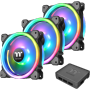 "Thermaltake ""LÜ 120x120 Thermaltake Riing Trio 12 LED RGB Radiator TT Premium Edition (3er-Pack)"""