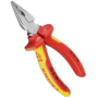 "Knipex""Spitz-Kombizangen - Side-cutting pliers - Metall - Kunststoff - Rot/Orange (08 26 145)"""