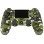 "Joypad Sony Dualshock 4 Wireless Controller Camouflage V2 (2 ""DualShock 4 Wireless Controller PlayStation 4 PS4 green camouflage V2 [DE-Version]"""