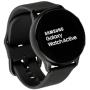 """Samsung """"Galaxy Watch Active - Schwarz - intelligente Uhr mit Band - Flouroelastomer - Anzeige 2.81 cm (1.1"""") - 4 GB - Wi-Fi, NFC, Blueto"""""""