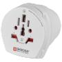 "Skross""SKROSS Country Travel Adapter Combo World to USA - Adapter für Power Connector - weiss (1-500204)"""