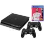 "Sony""Playstation 4 1TB Slim schwarz inkl. FIFA 20 / 2. Contr"""