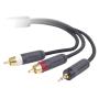 """Belkin""""Y-Splitter Kabel 2,0 m 3,5 mm Klinke/2 Cinch"""""""