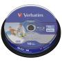 "Verbatim""Verbatim [hardware/electronic] 1x10 Verbatim Bd-r Blu-ray 25gb 6x Speed Dl Wide Printable Cb [de-ver"""