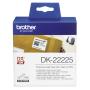 "Brother""DK-22225 - Endlos-Papieretiketten - Rolle (3,8 cm x30,5 m) - 1 Rolle(n) - für QL 1050, 1050N, 1060N, 500, 500A,"""