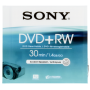 "Sony ""DVD+RW 1,4GB 8 cm Jewel Case DPW 30 A [DE-Version, Regio 2/B]"""