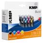 """Kmp""""B41V Vorteilspack kompatibel mit LC-123 BK/C/M/Y"""""""