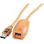 "Tether Tools ""TetherPro USB 3.0 Active Extension 5m orange"""