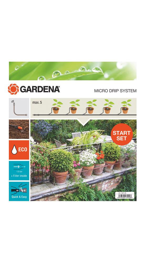 """Gardena""""Start-Set Pflanztöpfe S 13000, Tropfsystem"""""""