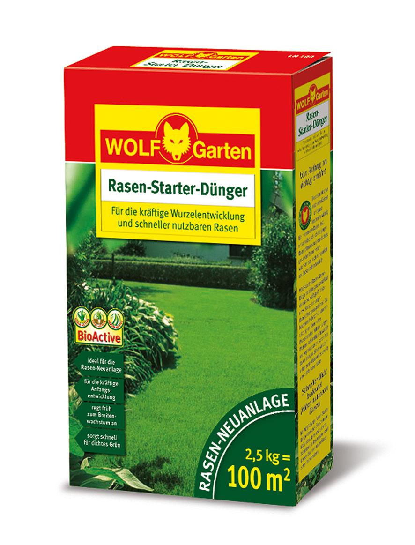 """Wolf Garten""""LH-100 Rasen Dünger Starter 2,5 kg"""""""