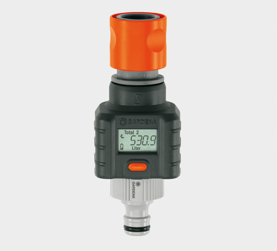 """Gardena [hardware/electronic] Wassermengenzähler (8188-""""Gardena [hardware/electronic] Wassermengenzähler (8188-20), Kupplung"""""""