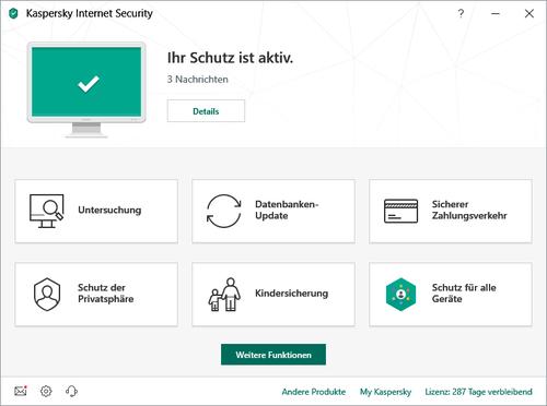 "Kaspersky""Kasp Internet-Security 2U Mini-Box | 2019 Sonderedition 2 für 1"""