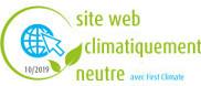 image site web climatiquement neutre